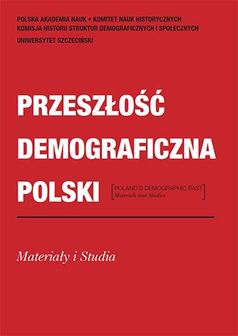 Przeszłość Demograficzna Polski / Poland's Demographic Past, nr42 (2020)