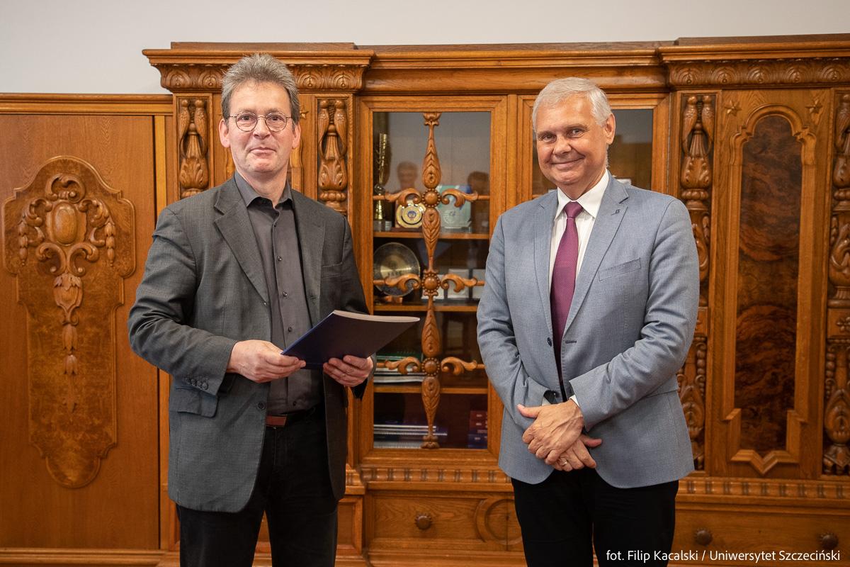 Profesor Jörg Hackmann dyrektorem nowego ośrodka US w Kulicach