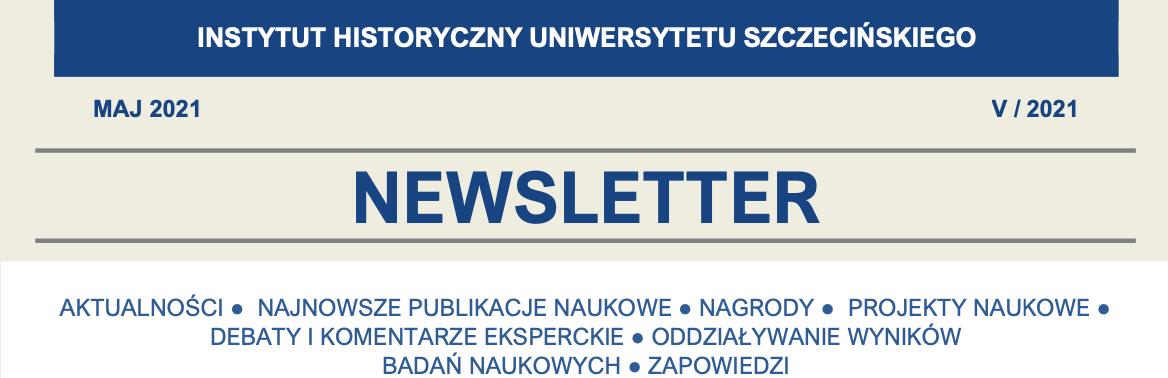 Newsletter Instytutu Historycznego US, V/2021