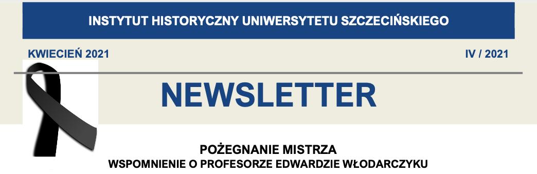 Newsletter Instytutu Historycznego US, IV/2021