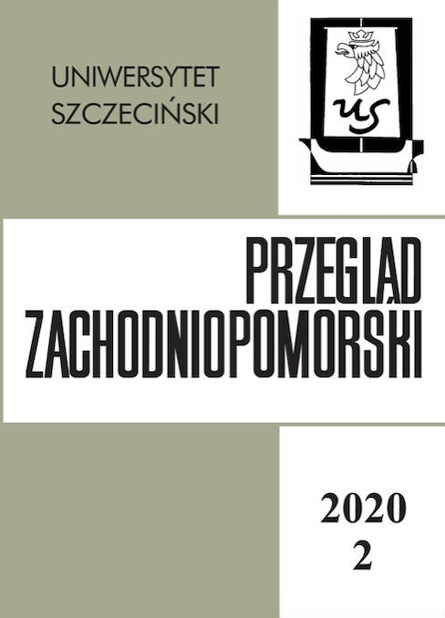 """Nowy numer """"Przeglądu Zachodniopomorskiego"""" (nr 2, 2020)"""