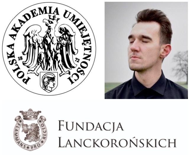 Doktorant Instytutu Historycznego US stypendystą Fundacji Lanckorońskich